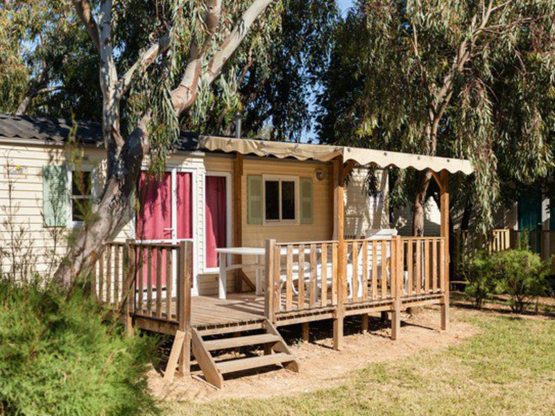 MOBILHOME 6 personnes - Villa 2 chambres + 4/6 Pers. (46VE)