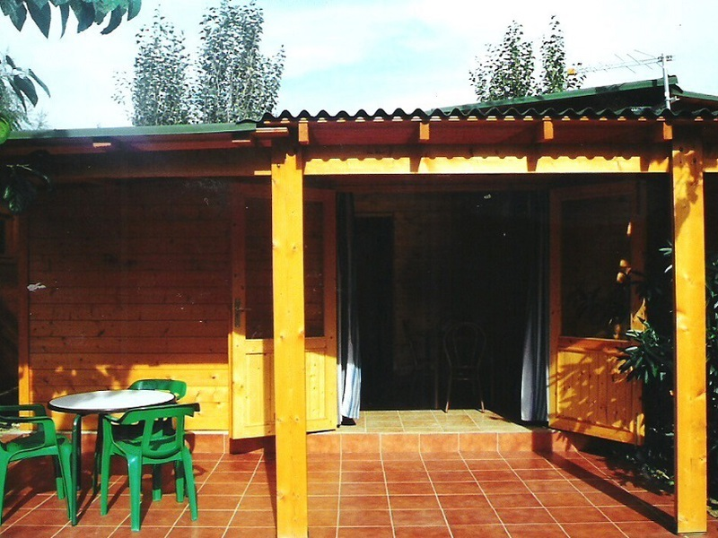 CHALET 3 personnes - Madera