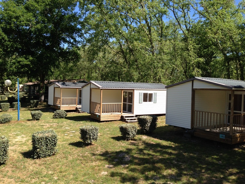 STACARAVAN 4 personen - Lodge