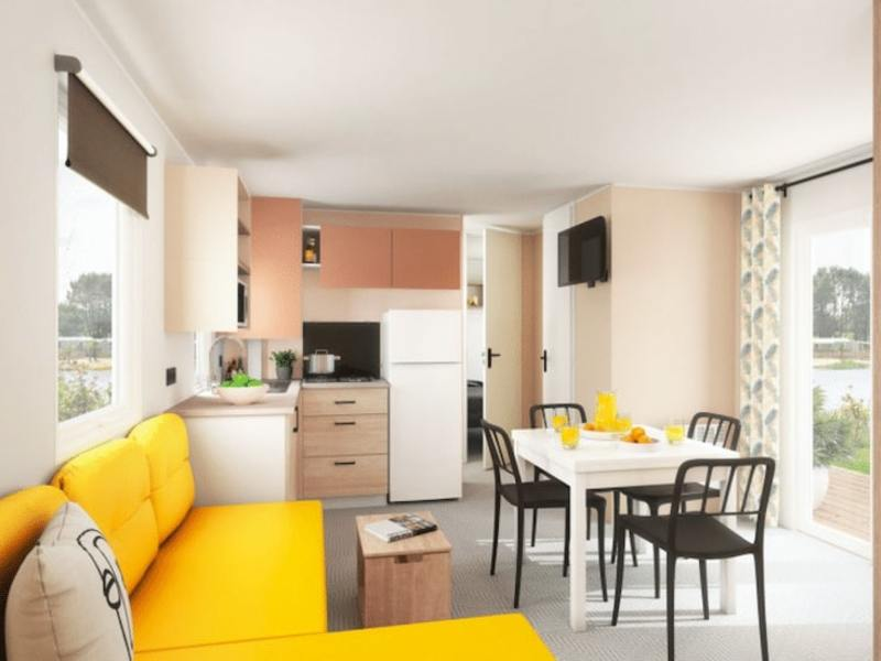 MOBILHOME 8 personnes - 4 chambres