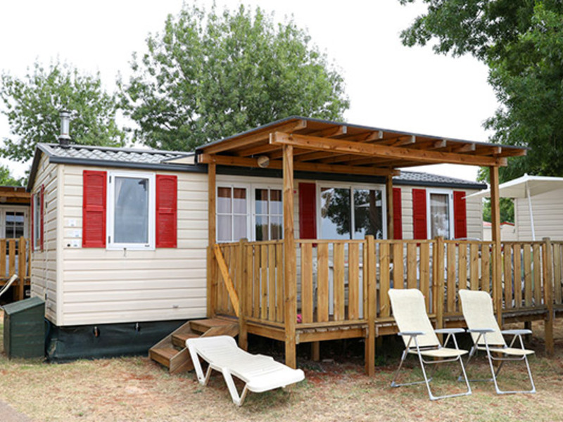 MOBILHOME 6 personnes - DELUXE