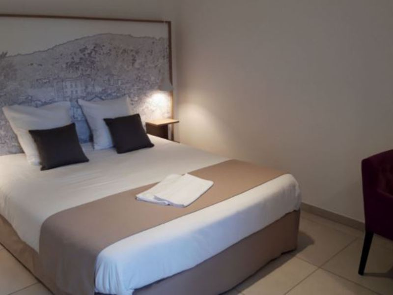APPARTEMENT 2 personas - CHAMBRE D'HOTEL DOUBLE