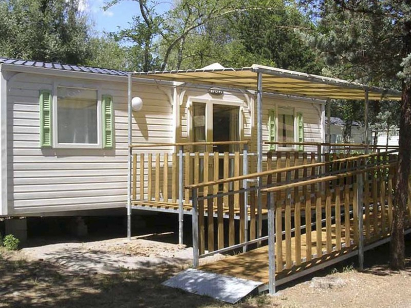 MOBILHOME 5 personas - MH accessible residence privative