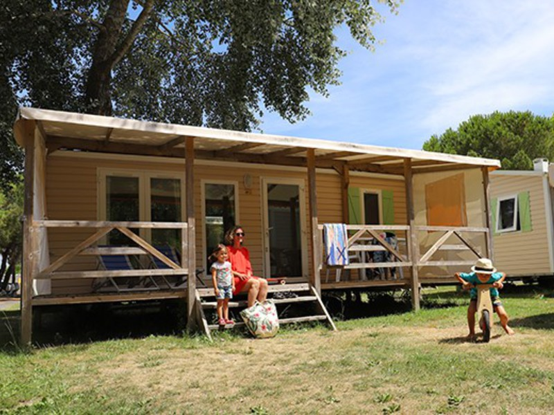 MOBILHOME 6 personnes - 2 Chambres (M26)