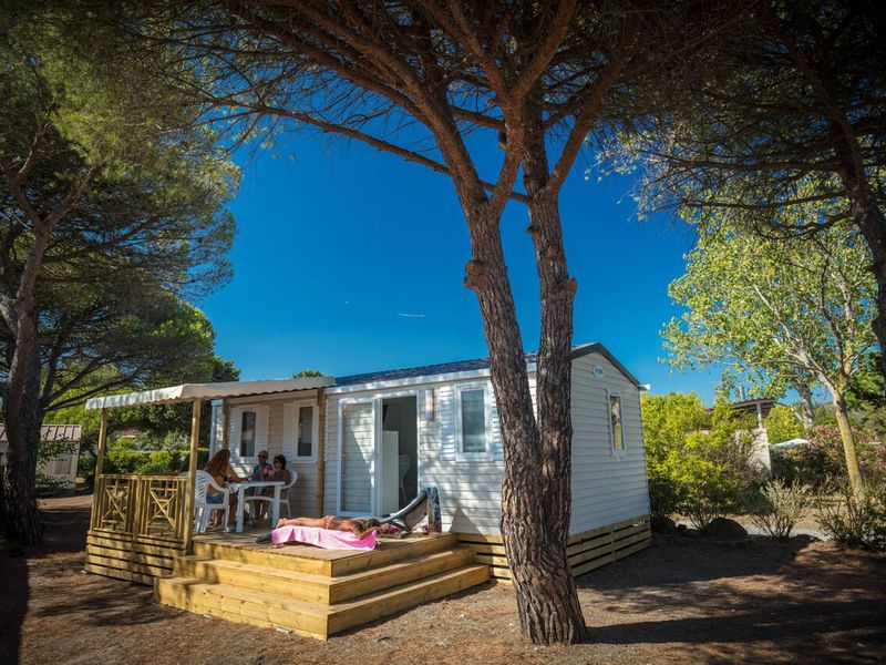 MOBILHOME 7 personnes - COSY CLIM 3 chambres