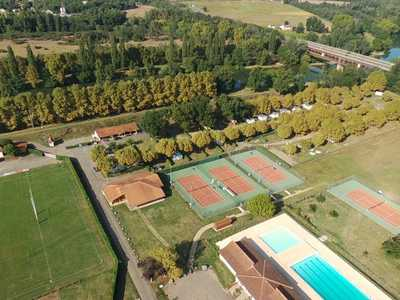 Camping Les Rives de l'Adour -  Bel Air Village