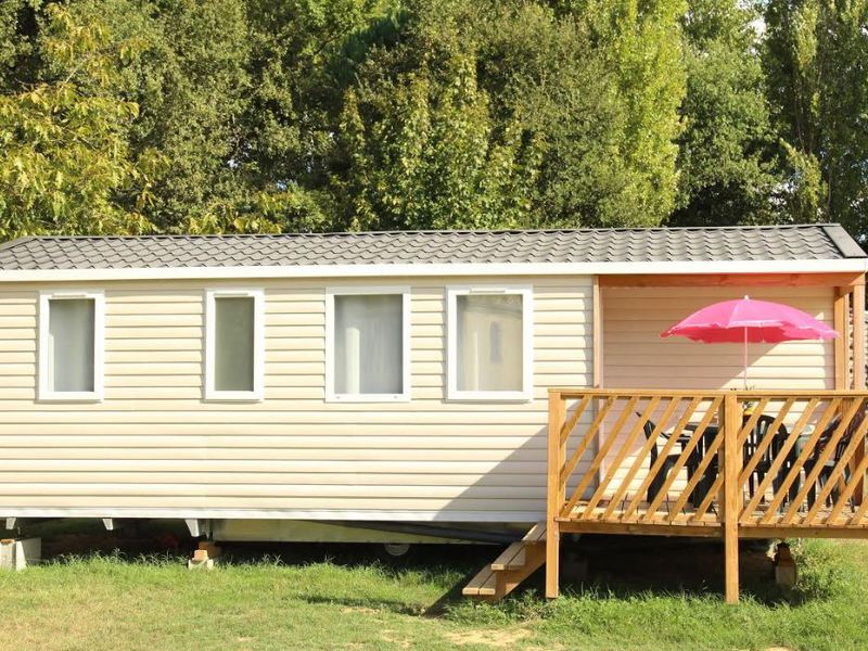 MOBILHOME 9 personnes - 3 chambres