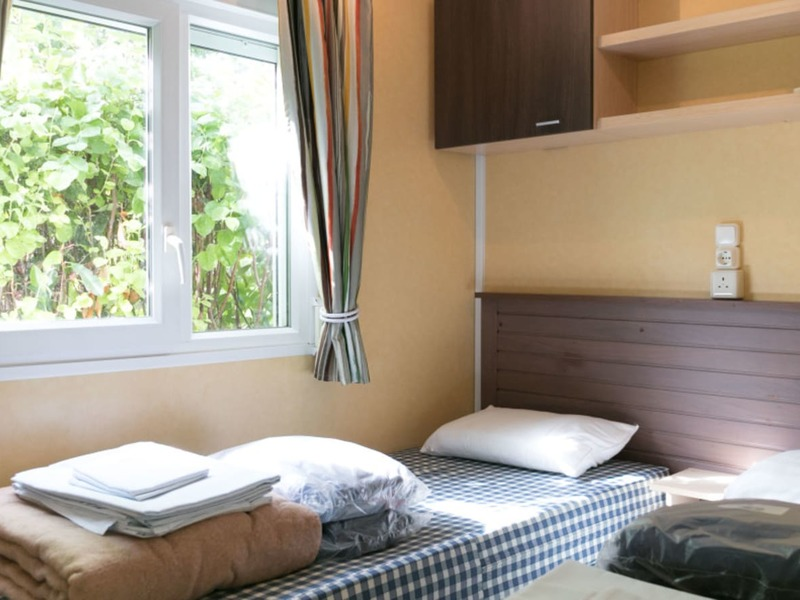 MOBILHOME 6 personnes - Platine 3 chambres