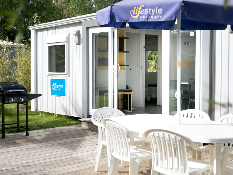 MOBILHOME 8 personnes - Emeraude (3 chambres)