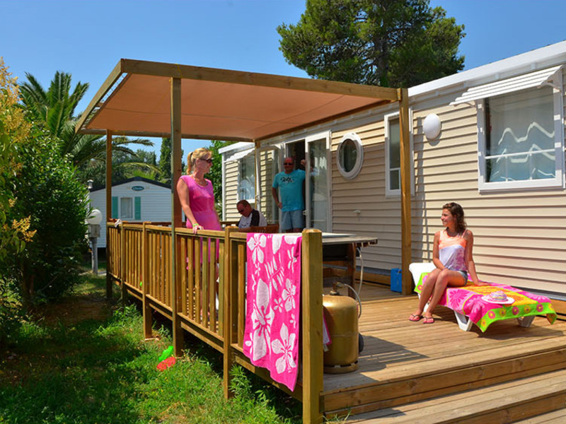 MOBILHOME 7 personnes - LUXE - 3 CHAMBRES