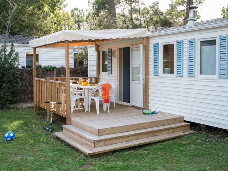 MOBILHOME 4 personnes - Confort - Chêne