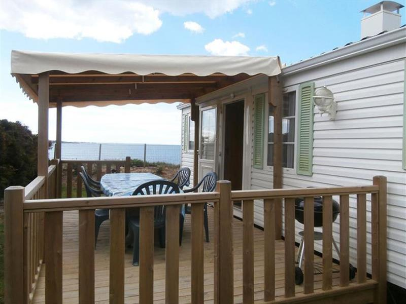 MOBILHOME 6 personas - N°61 - 2 Terrasse Couverte - Face Mer