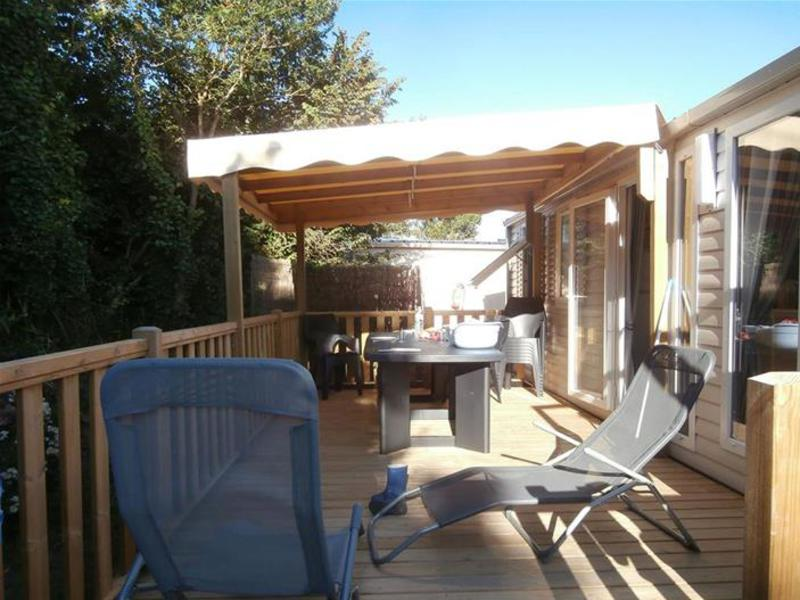 MOBILHOME 6 personas - N°30 - Terrasse Couverte - 3 chambres