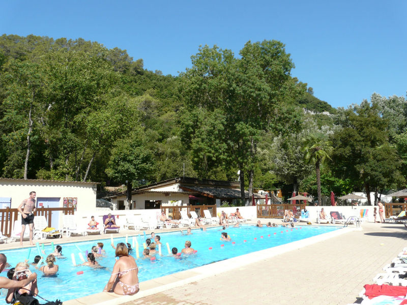 Camping  Au Vallon Rouge