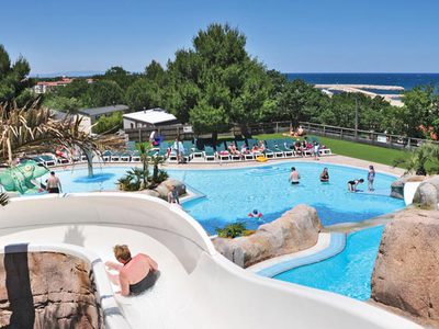 Camping Le Bois de Valmarie - Camping Pyrenees-Orientales
