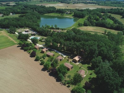 Camping Les Chalets de Dordogne - Camping Dordoña - Image N°2