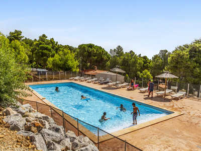 Camping Le Bois de Pins - Camping Pyrenees-Orientales