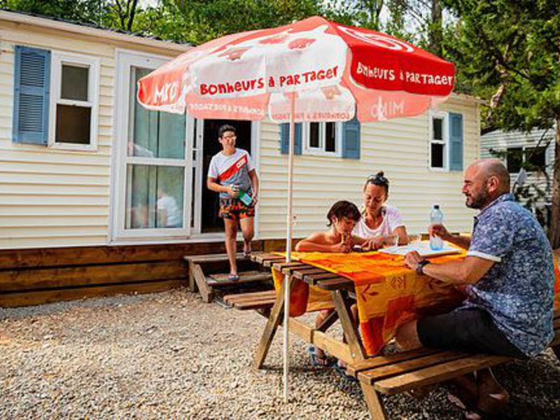 MOBILHOME 6 personnes - Mobil home, 2 chambres