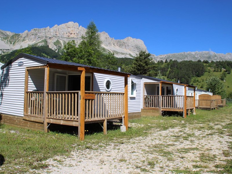 MOBILHOME 4 personnes - HERMINE