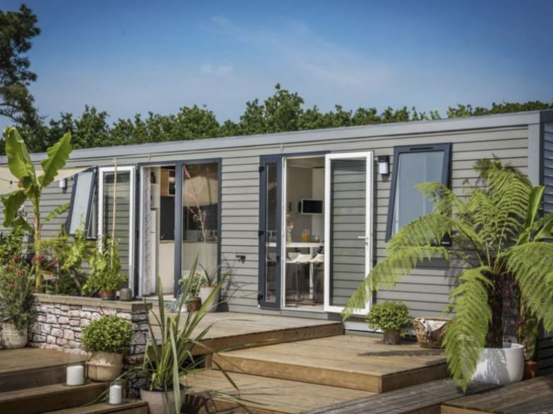 MOBILHOME 6 personnes - 3 chambres, 38m²