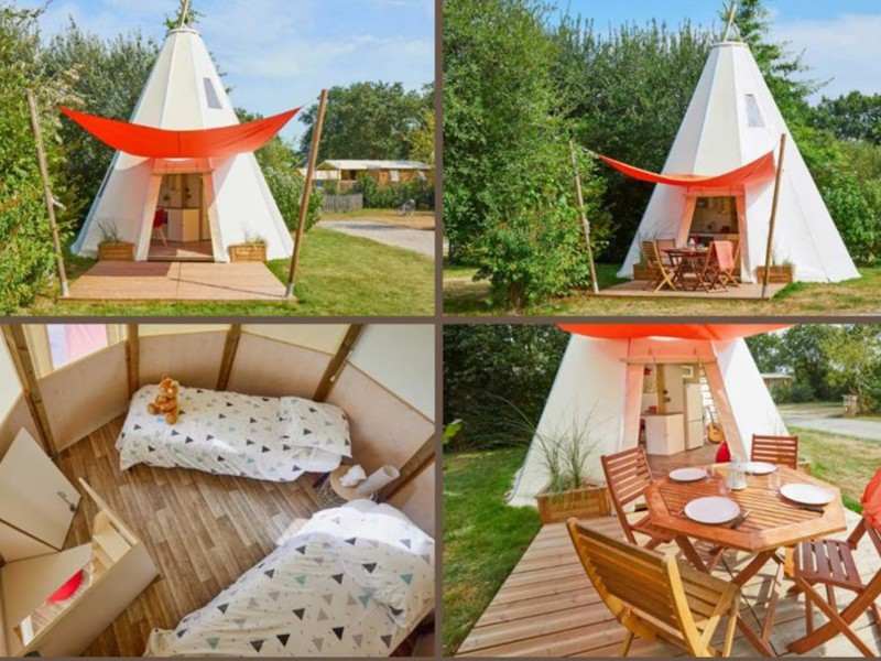 TIPI 5 personnes - Home, 3 chambres