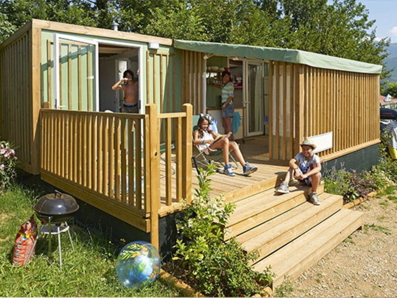 CHALET 5 personnes - HYBDRIDLODGE CLEVER (CL)