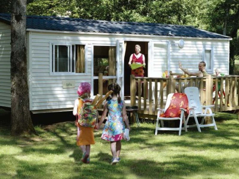 MOBILHOME 5 personnes - FAMILY CLIM 3 CHAMBRES