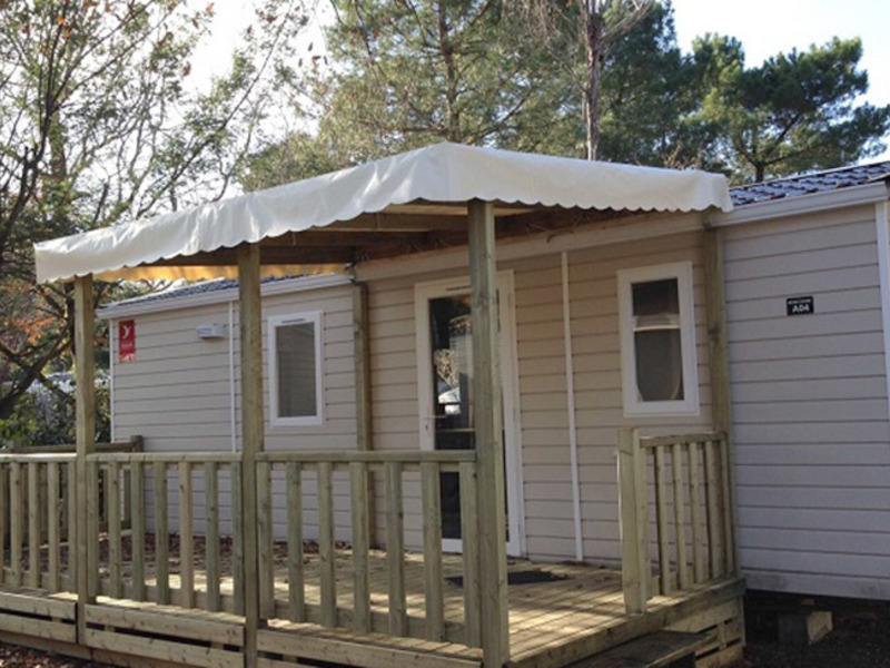 MOBILHOME 6 personnes - 2 chambres