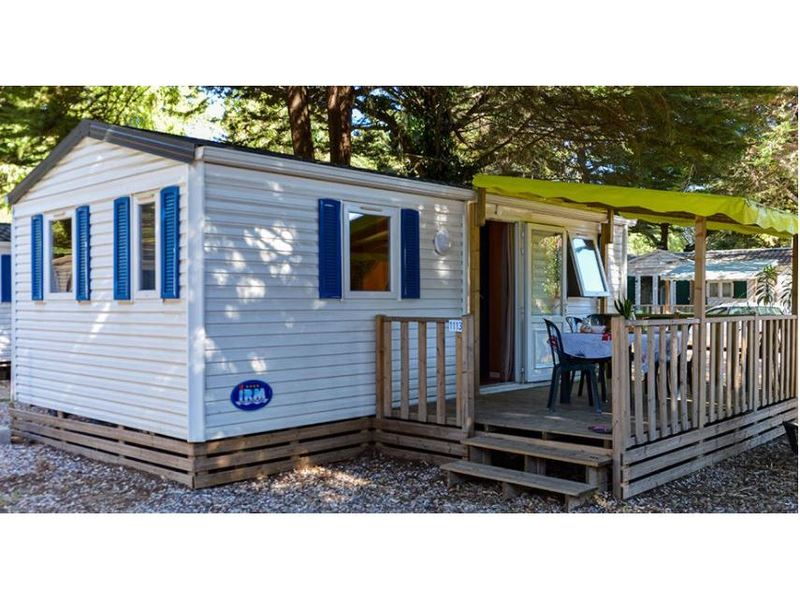 MOBILHOME 6 personnes - CAPRI - 2 chambres + terrasse + climatisation