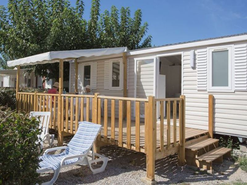MOBILHOME 6 personnes - OHANA - 3 chambres + terrasse + climatisation
