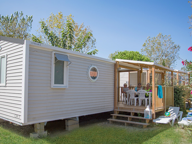 MOBILHOME 6 personnes - AKOYA - 2 chambres + terrasse