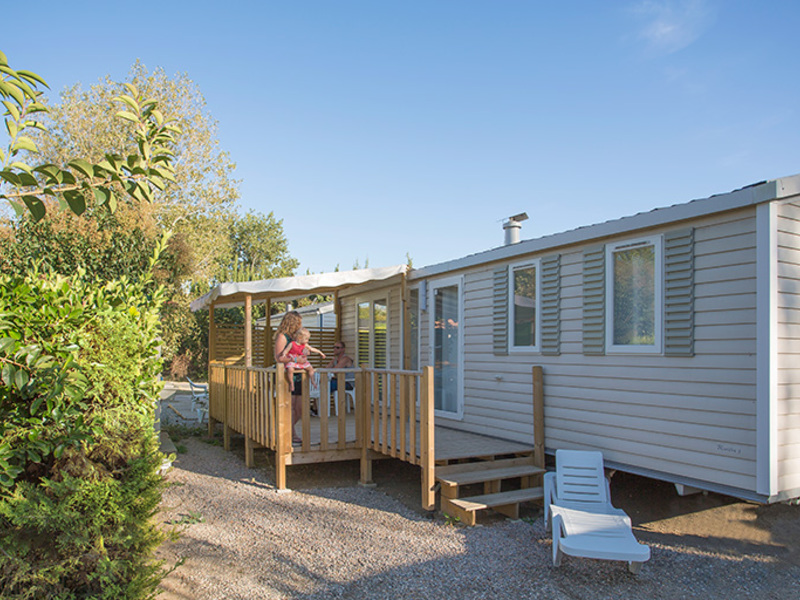 MOBILHOME 6 personnes - TANGAROA - 3 chambres + terrasse + climatisation