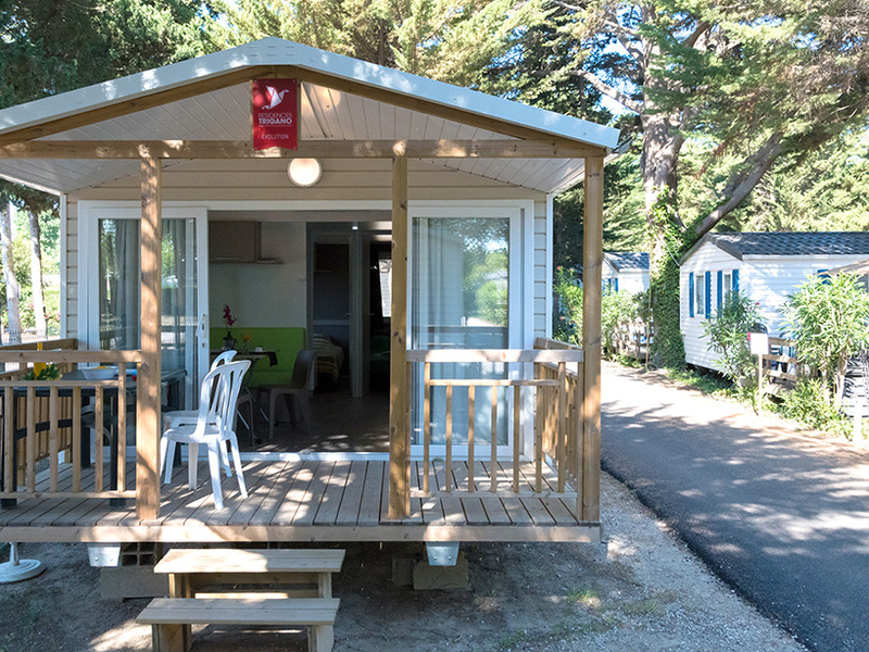 MOBILHOME 6 personnes - ILANGA - 2 chambres + terrasse + climatisation