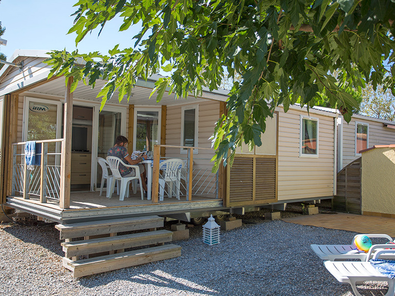 MOBILHOME 6 personnes - HIBISCUS - 2 chambres + terrasse + climatisation
