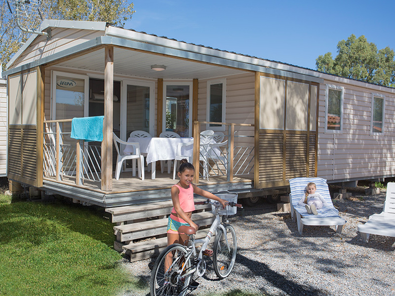 MOBILHOME 6 personnes - NEPTUNE - 3 chambres + terrasse + climatisation